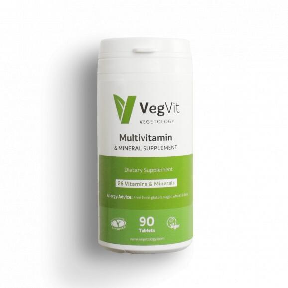 VegVit - Multivitamin a Mineral 90 tablet